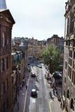 Edinburgh Cowgate & Grassmarket Royalty-vrije Stock Afbeelding