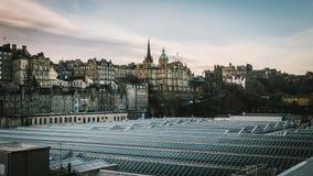 Edinburgh in de ochtend Royalty-vrije Stock Afbeelding
