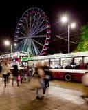 Edinburgh eye on princess street Royalty Free Stock Photography