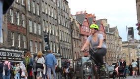 Edinburgh-Festival-Franse, Schottland 2018 stock footage