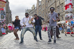 Edinburgh Festival Fringe Royalty Free Stock Photography