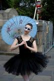 Edinburgh Festival Fringe 2014. Street theatre at the Edinburg Festival Fringe 2014 Stock Image