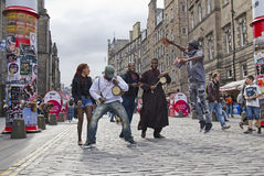 Edinburgh Festival Fringe Royalty Free Stock Images