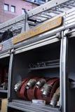 Edinburgh-Feuerwehr Lizenzfreie Stockfotos