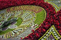 Edinburgh Flower Clock Stock Photography