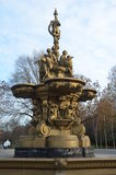 Edinburgh Fountain Royalty Free Stock Photo