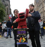 Edinburgh-Fransen-Festival 2016 lizenzfreie stockfotos