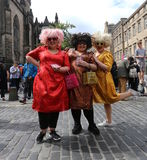 Edinburgh-Fransen-Festival 2016 stockbild