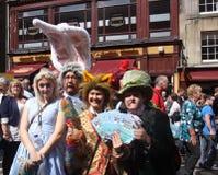 Edinburgh fransfestival 2011 Fotografering för Bildbyråer