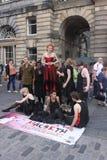 Edinburgh Fringe Festival 2011 Stock Photo