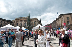 The Edinburgh Fringe Festival 2011 Royalty Free Stock Image