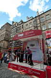 The Edinburgh Fringe Festival 2011 Stock Photography
