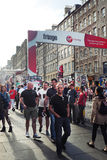 Edinburgh Fringe Festival Stock Photography