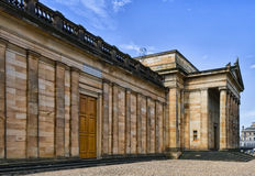 edinburgh gallerinational scotland Royaltyfri Foto