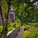 Edinburgh garden Royalty Free Stock Images