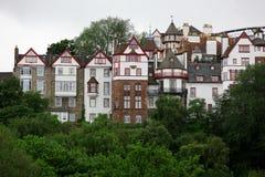 городок Шотландии дома edinburgh gb старый Стоковое Изображение RF
