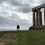 Edinburgh-Gipfel Stockfotografie
