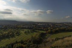 Edinburgh hill Stock Photography