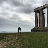 Edinburgh hilltop Stock Photography