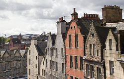 Edinburgh Houses Stock Images