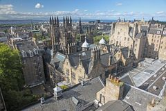 Edinburgh i Skottland, UK Royaltyfria Bilder