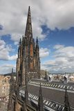 Edinburgh i Skottland, UK Arkivbilder