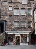 Edinburgh kilt shop Stock Photo