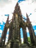 edinburgh królestwie Scotland pomnikowy Scott united Edynburg, Szkocja UK, Obrazy Stock