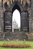 edinburgh kungarikemonument scotland förenade scott Arkivbilder