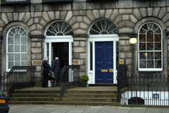 Edinburgh Mansion. S, Typical Edinburgh Townhouse Royalty Free Stock Photography