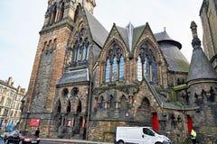 Edinburgh, Mening van de stad, verscheidene monumenten en Kasteel, Royalty-vrije Stock Fotografie