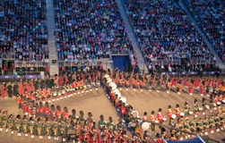 Edinburgh Military Tattoo Royalty Free Stock Image