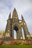 Edinburgh monument Stock Image