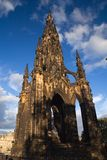 Edinburgh monument. The Walter Scott monument in Princes Street, Edinburgh stock images