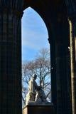 edinburgh monument scott Royaltyfri Fotografi