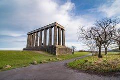 edinburgh monumentnational fotografering för bildbyråer