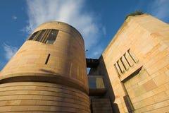 edinburgh museum scotland Arkivfoto
