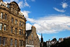 Edinburgh, New Town Royalty Free Stock Images