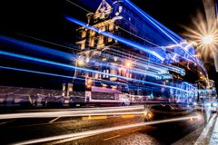 Edinburgh by night royalty free stock images