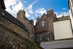 Edinburgh ny Town Arkivfoton