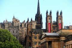 Edinburgh, Old Town. Edinburgh is the capital city of Scotland, renowned for its heritage, culture and festivals. Situated in Scotland`s Central Belt it lies on Stock Images