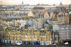 Edinburgh old town city view from Calton Hill. Edinburgh old town city view from Calton Hill Stock Image
