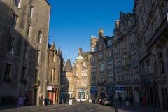Edinburgh Old Town, Scotland. The Royal Mile in Edinburgh Old Town, Scotland Royalty Free Stock Photography