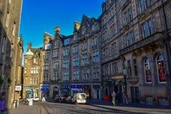 Edinburgh Old Town, Scotland. The Royal Mile in Edinburgh Old Town, Scotland Royalty Free Stock Photos