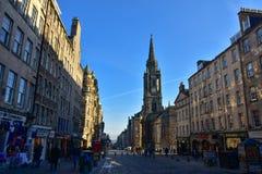 Edinburgh Old Town, Scotland. The Royal Mile in Edinburgh Old Town, Scotland Royalty Free Stock Images
