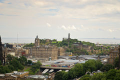 Edinburgh Panorama Royalty Free Stock Image