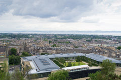 Edinburgh-Panorama Stockbild