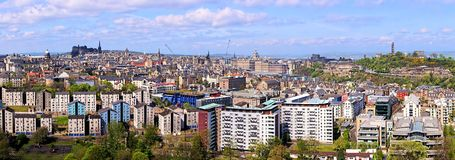 Edinburgh panorama Stock Photo