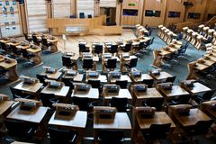 Edinburgh parliament Royalty Free Stock Photos