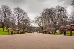 Edinburgh princess garden Stock Image